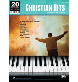 - 20 Sheet Music Bestsellers, Christian Hits, Easy Piano