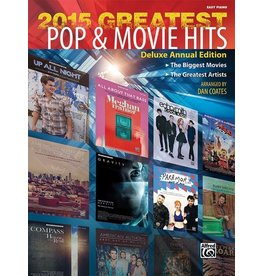 Alfred's Publishing - 2015 Greatest Pop & Movie Hits, Easy Piano