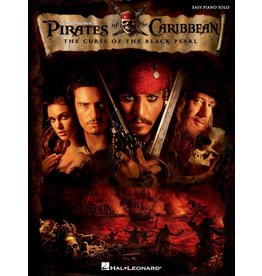 Hal Leonard - Pirates of the Caribbean, The Curse of the Black Pearl, Easy Piano Solo