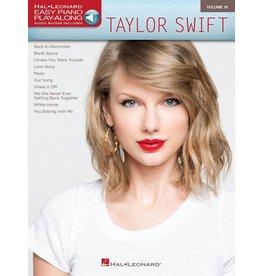 Hal Leonard - Taylor Swift, Easy Piano Play-Along (Volume 19)