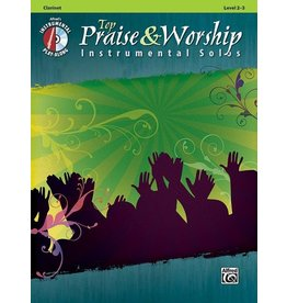 Alfred's Publishing - Top Praise & Worship Solos (Clarinet)