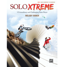 Alfred's Publishing - SOLO XTREME, Book 1, by Melody Bober