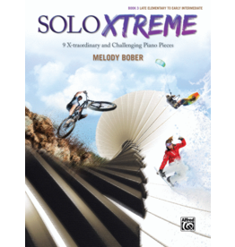 Alfred's Publishing - SOLO XTREME, Book 3, by Melody Bober