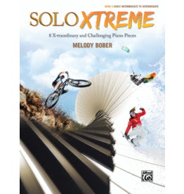 Alfred's Publishing - SOLO XTREME, Book 4, by Melody Bober
