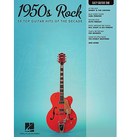 Hal Leonard - 1950's Rock, Easy Guitar Tab