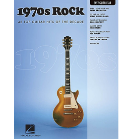 Hal Leonard - 1970's Rock, Easy Guitar Tab