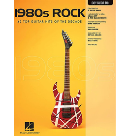 Hal Leonard - 1980's Rock, Easy Guitar Tab