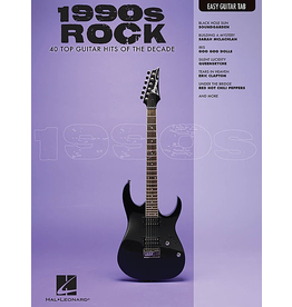 Hal Leonard - 1990's Rock, Easy Guitar Tab