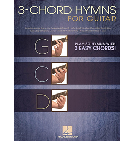 Hal Leonard - 3 Chord Hymns for Guitar, Easy Guitar