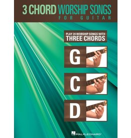 Hal Leonard - 3 Chord Worship Songs for Guitar (G-C-D)