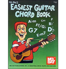 Mel Bay - Easiest Guitar Chord Book