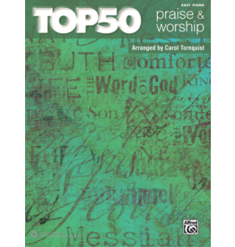 Alfred's Publishing - Top 50 Praise & Worship, Easy Piano