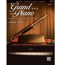 Alfred's Publishing - Grand Solos for Piano, Book 4