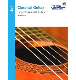 Frederick Harris - Classical Guitar Series, Repertoire and Etudes 4