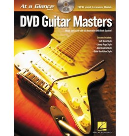 Hal Leonard At a Glance Guitar Series, Book/DVD Pack, Guitar Masters