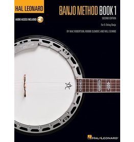 Hal Leonard - Banjo Method Book 1, Book and CD