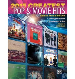 Alfred's Publishing - 2015 Greatest Pop & Movie Hits, Big Note
