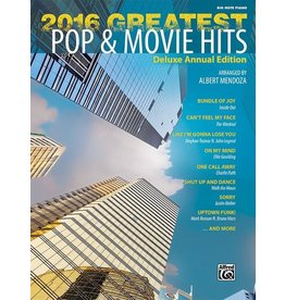 Alfred's Publishing - 2016 Greatest Pop & Movie Hits, Big Note
