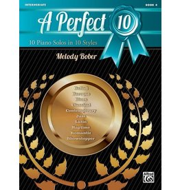Alfred's Publishing - A Perfect 10, Book 4, by Melody Bober