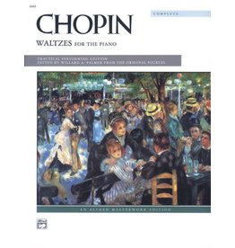 Alfred's Publishing - Chopin, Waltzes for the Piano, Complete (Advanced)