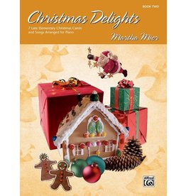 Alfred's Publishing - Christmas Delights, Book 2  (Martha Mier)