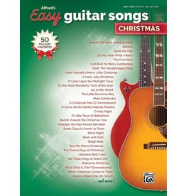 Alfred's Publishing - Easy Guitar Songs, Christmas