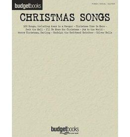 Hal Leonard - Budget Books, Christmas Songs (P/V/G)