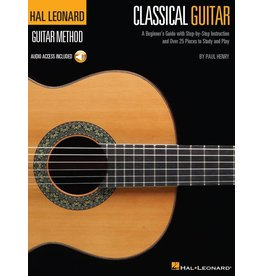 Hal Leonard - Classical Guitar Method w/online media