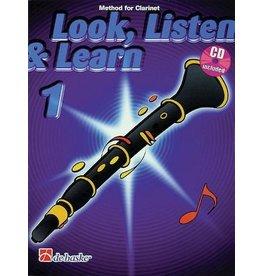 Hal Leonard - Look, Listen & Learn, Clarinet, Method Book, Part 1