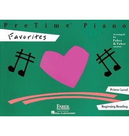 Hal Leonard - Faber PreTime Piano, Primer Level, Favorites