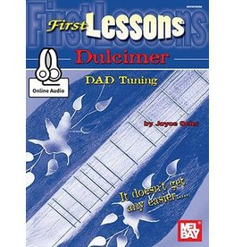 Mel Bay - First Lessons Dulcimer (incl/CD)