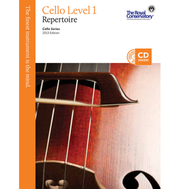 Frederick Harris - Cello Series, Cello Repertoire 1