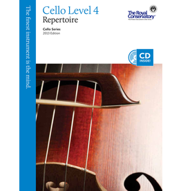 Frederick Harris - Cello Series, Cello Repertoire 4
