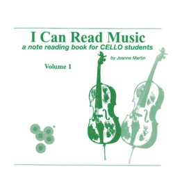 Alfred's Publishing - I Can Read Music, Cello, Volume 1