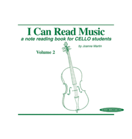 Alfred's Publishing - I Can Read Music, Cello, Volume 2