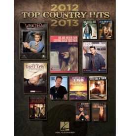 Hal Leonard - Top Country Hits 2012-2013, (P/V/G)