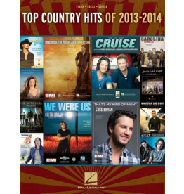 Hal Leonard - Top Country Hits 2013-2014 (P/V/G)