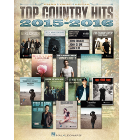Hal Leonard - Top Country Hits 2015-2016 (P/V/G)