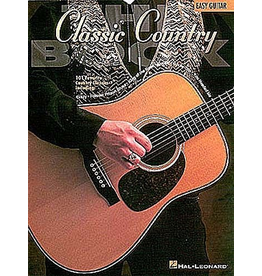 Hal Leonard - The Classic Country Book, Easy Guitar
