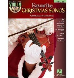 Hal Leonard - Favorite Christmas Songs, Violin Play-Along Book w/CD