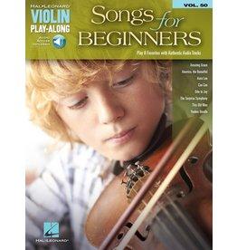 Hal Leonard - Songs for Beginners, Violin Play-Along Audio