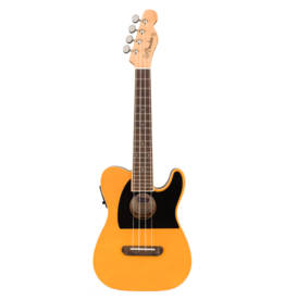 Fender - Fullerton Tele Uke, Butterscotch Blonde, Concert