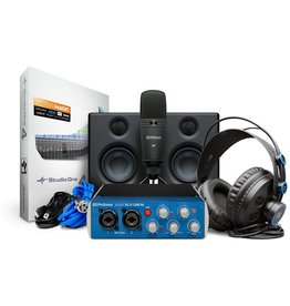 Presonus - AudioBox Studio Ultimate Bundle Deluxe Hardware/Software Recording Collection
