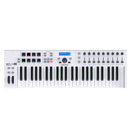 Arturia - KeyLab Essential 49 Semi-Weighted USB MIDI Keyboard Controller w/Software Bundle