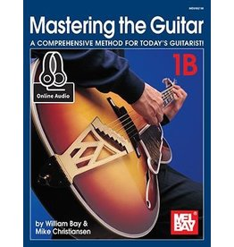 Mel Bay - Mastering The Guitar 1B - w/Online Audio+Video