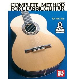 Mel Bay - The Complete Method for Classic Guitar, w/online media