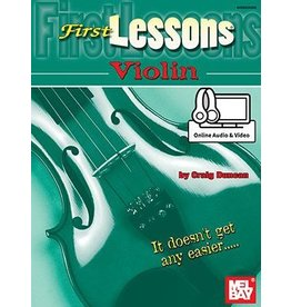 Mel Bay - First Lessons, Violin (incl/online media)