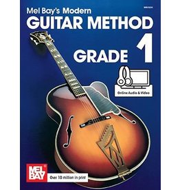 Mel Bay - Guitar Method, Grade 1 (w/online media)