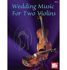 Mel Bay - Wedding Music for Two Violins by Scott Staidle