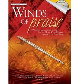 Hal Leonard - Winds of Praise, for Flute, Oboe or Violin w/CD